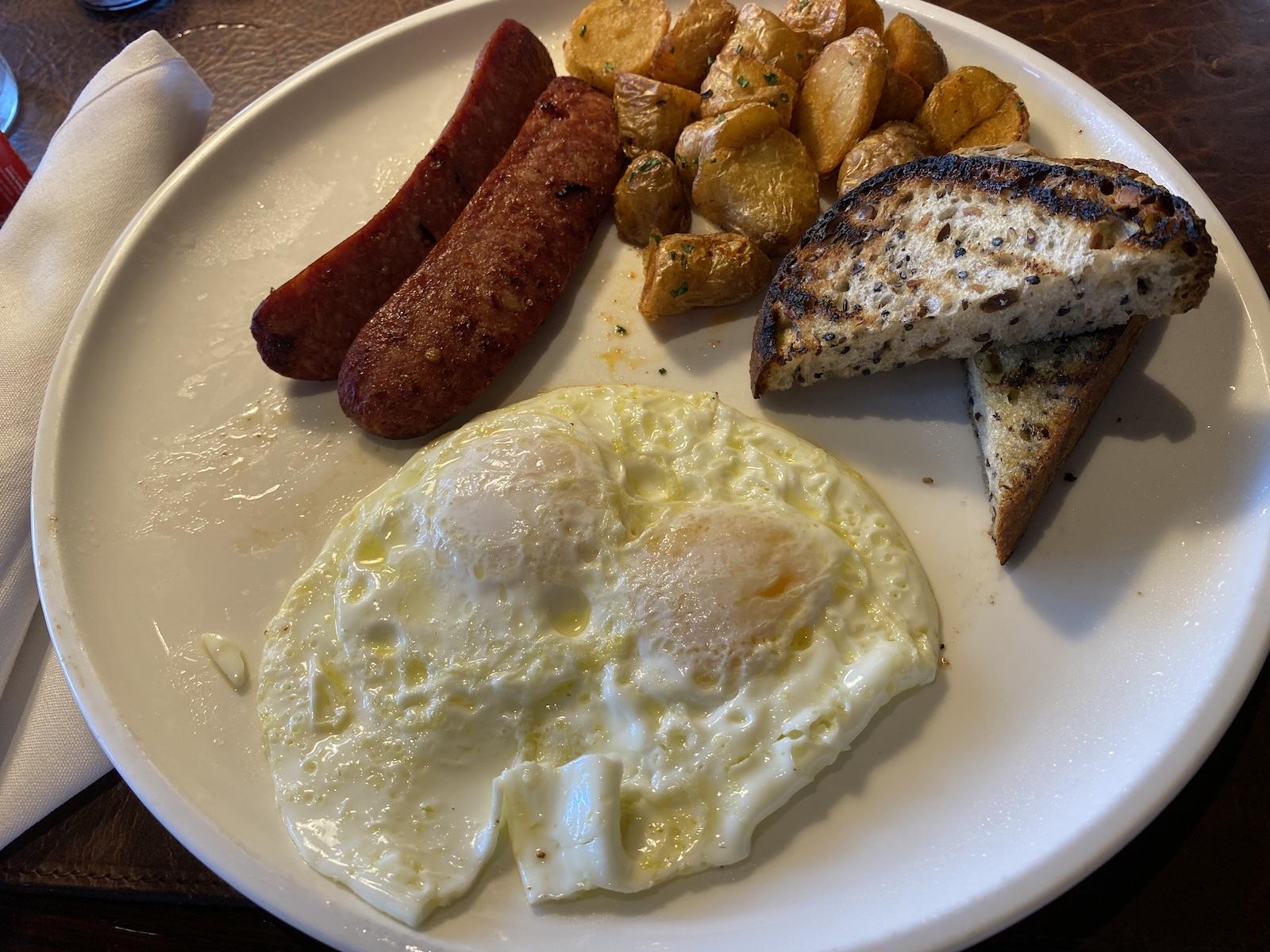 Ventana Big Sur Breakfast