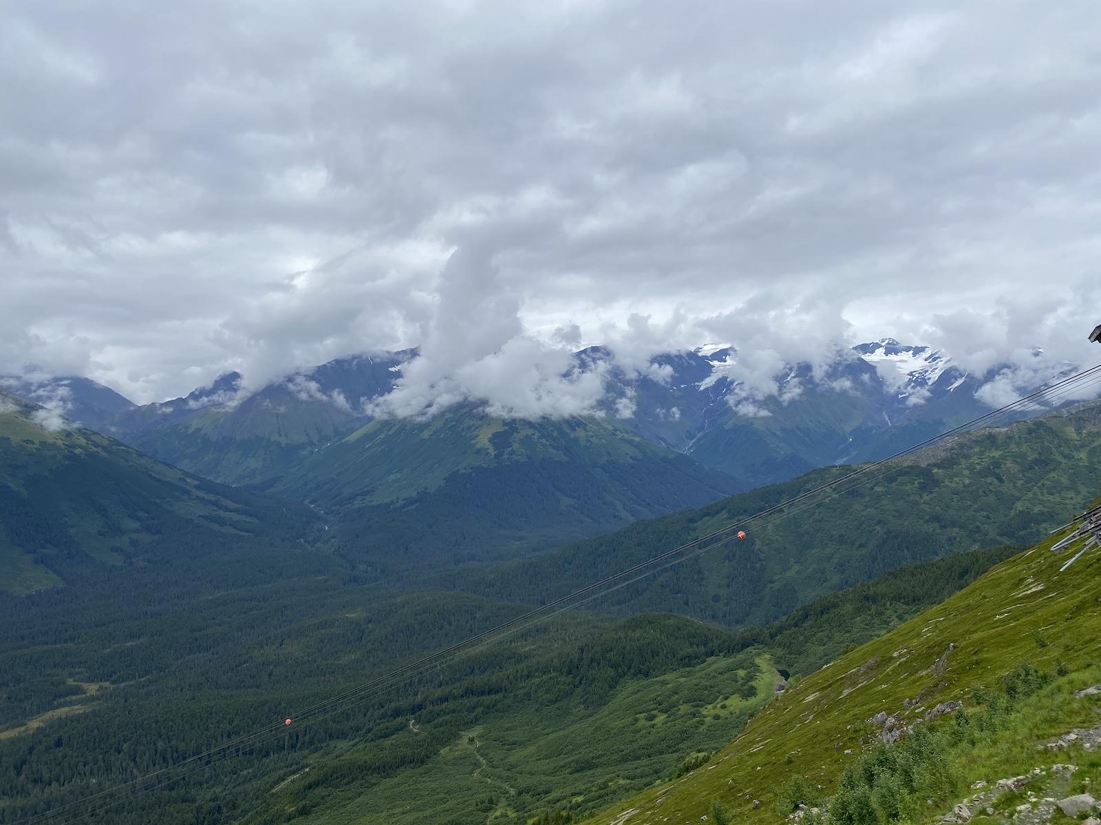 View from the Aerial Tram at Ayleska