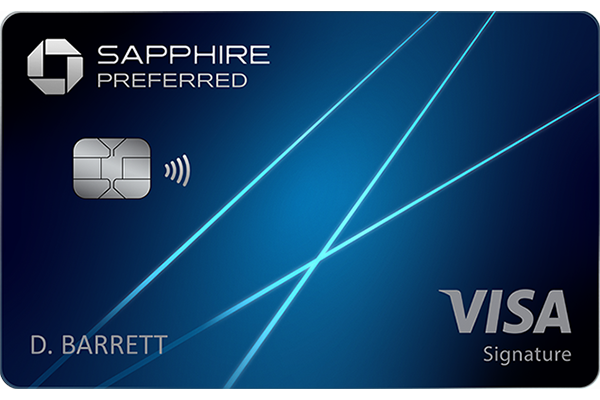 chase sapphire preferred new card art