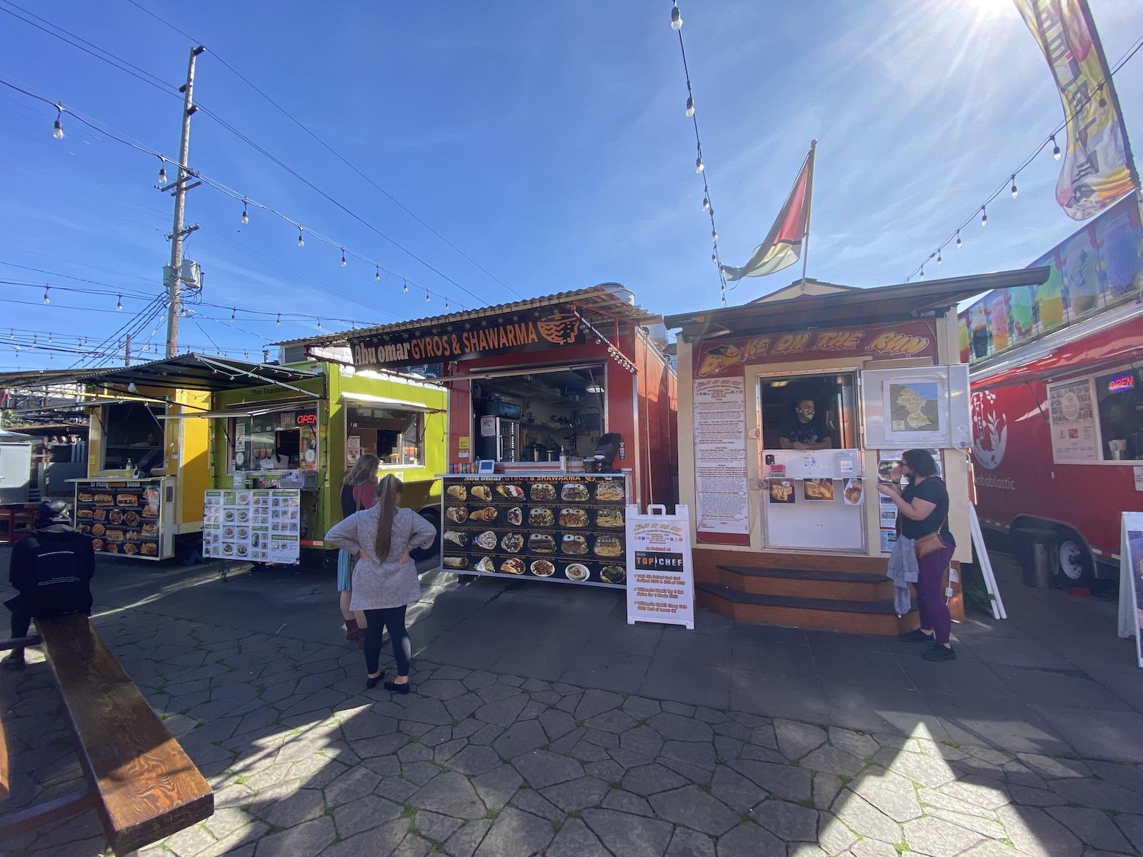 Hawthorne Asylum Food Carts